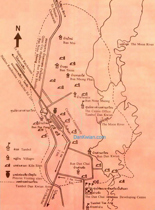 Dan Kwian Site Map